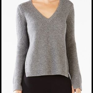 BCBG Open-Back Sweater